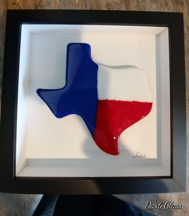 State of Texas Wall Art